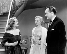 All About Eve Bette Davis greets Marilyn Monroe George Sanders 8x10 inch photo