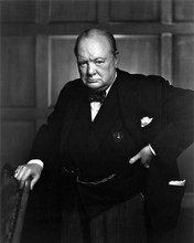 Sir Winston Churchill possibly the best ever portrait British PM 8x10 inch photo