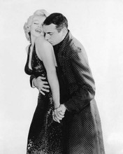 The Prince and the Showgirl Laurence Olivier embraces Marilyn Monroe 8x10 photo