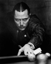 Christopher Walken lines up a shot on pool table Pennies from heaven 8x10 photo