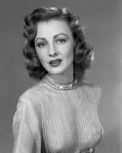 Rhonda Fleming classic studio glamour portrait 1940's era 8x10 inch photo