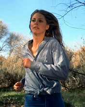 Lindsay Wagner running as Jamie Sommers The Bionic Woman 8x10 inch photo