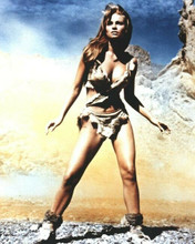 Raquel Welch iconic One Million Years BC pin-up in cavegirl outfit 8x10 photo
