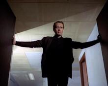 The Prisoner TV iconic title scene Patrick McGoohan opens doors 8x10 photo