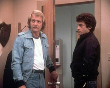 Starsky and Hutch David Soul with moustache Paul Michael Glaser 8x10 inch photo