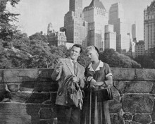 It Should Happen To You Jack Lemmon Judy Holliday in Central Park NY 8x10 photo
