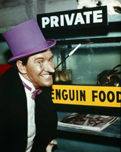 Batman classic TV series Burgess Meredith grins as The Penguin 8x10 inch photo