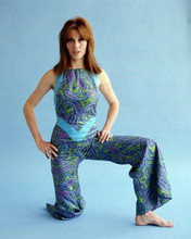 Stefanie Powers The Girl from UNCLE full length pose barefoot 8x10 inch photo