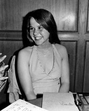 Linda Blair rare at press event for The Exorcist smiling 8x10 inch photo