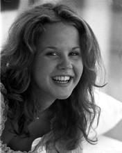 Linda Blair circa 1976 smiling portrait 8x10 inch photo