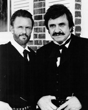 Last Days of Frank and Jesse James '86 Johnny Cash Kris Kristofferson 8x10 photo