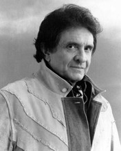 Johnny Cash 1987 album cover portrait Johnny Cash is Coming To Town 8x10 photo