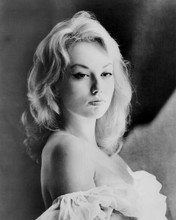 Mylene Demongeot lovely glamour portrait with bare shoulders 8x10 inch photo