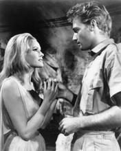 She 1965 Hammer tender moment for Ursula Andress & John Richardson 8x10 photo