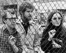 Annie Hall Woody Allen Tony Roberts Diane Keaton look thru fence 8x10 inch photo