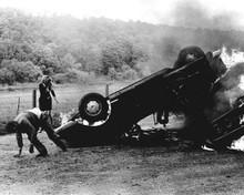 Weekend 1967 Jean-Luc Godard Mireille Darc exploding Alfa Romeo 2600 Sprint 8x10