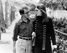 Annie Hall Woody Allen Diane Keaton walk down street together 8x10 inch photo