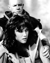 The Beastmaster 1982 Tanya Roberts in the grip of warrior 8x10 inch photo