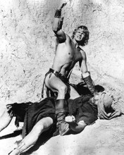The Beastmaster 1982 Marc Singer fist in the air wins fight 8x10 inch photo