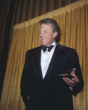 James Arness smiles in tuxedo at Hollywood event 1970's 8x10 inch photo