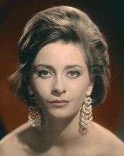 Elizabeth Ashley bare shouldered glamour portrait with earrings 8x10 inch photo