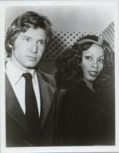 Donna Summer Harrison Ford original 1970's press photo attending event 8x10