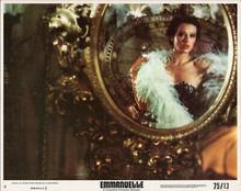 Emmanuelle original 1975 8x10 lobby card Sylvia Kristel in mirror