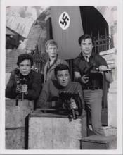 Garrison's Gorillas TV series original 8x10 photo cast pose with guns