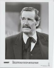 James Garner 1988 original 8x10 photo as Wyatt Earp in Sunset