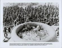King Solomon's Mines original 8x10 photo Richard Chamberlain Sharon Stone in pot