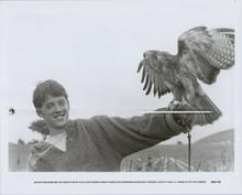 Matthew broderick original 1985 8x10 photo Ladyhawke with hawk on arm