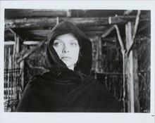 Michelle Pfeiffer original 1985 8x10 photo wearing hooded cape Ladyhawke