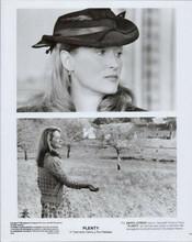 Meryl Streep original 1985 8x10 photo two scenes from Plenty