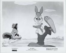 Song Of The South original 1972 8x10 photo Br'er Rabbitt in scene
