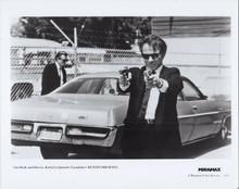 Reservoir Dogs original 1992 8x10 photo Harvey Keitel points two guns