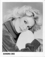 Sandra Dee original 1970's publicity portrait 8x10 photo