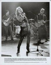 Meryl Streep on stage singing Postcards From The Edge original 8x10 photo 1990