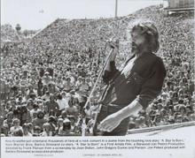 Kris Kristofferson original 1976 8x10 photo in concert scene A Star is Born