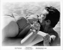 Tale of the Cock 8x10 inch original photo Linda Evans Don Murray kiss