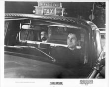 Taxi Driver 8x10 inch original photo Martin Scorsese Robert De Niro in cab