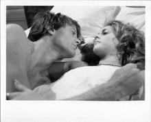 Two People 1973 original 8x10 inch photo Lindsay Wagner Peter Fonda in bed