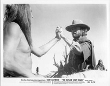 The Outlaw Josey Wales original 8x10 inch photo Clint eastwood Will Sampson