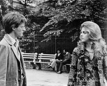 Two People original 8x10 inch photo 1973 Lindsay Wagner Peter Fonda in park