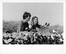 Two People 1973 Lindsay Wagner Peter Fonda by wall original 8x10 inch photo