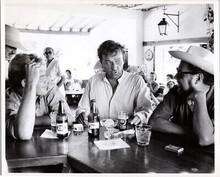 Night of the Iguana 1963 original production photo Richard Burton at bar
