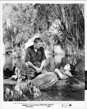 Nevada Smith original 8x10 inch photo Steve McQueen Suzanne Pleshette by lake