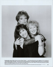 Postcards From The Edge original 1990 8x10 photo Carrie Fisher Maclaine & Streep
