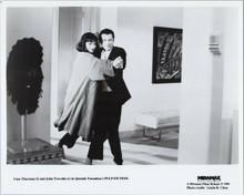 Pulp Fiction original 1994 8x10 photo John Travolta dances with Uma Thurman