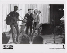 Postcards From The Edge original 1990 8x10 photo Meryl Streep sings with band