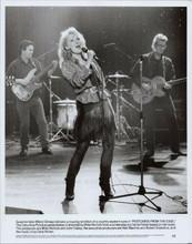 Postcards From the Edge original 1990 8x10 photo Meryl Streep on stage singing